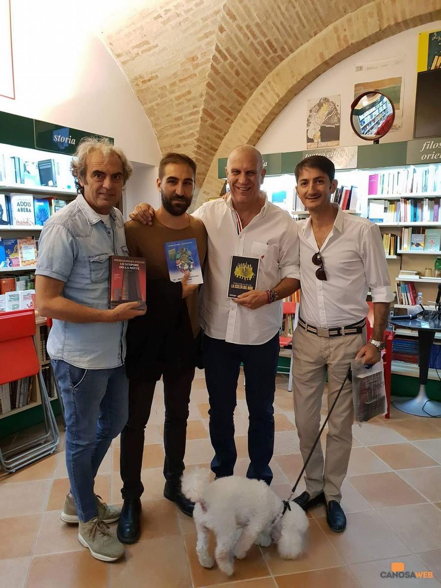 Con gli autori  Agostino Trombetta e Luciano Ciavarella