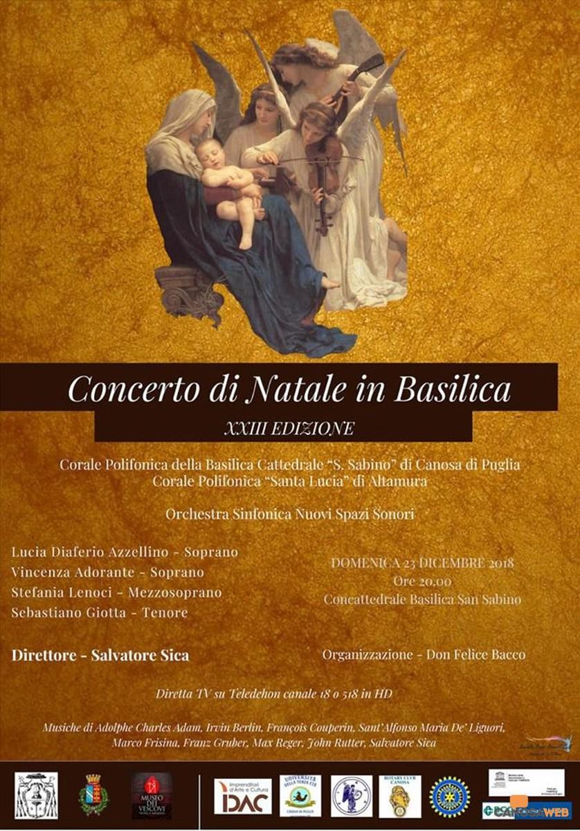 Concerto di Natale in Basilica