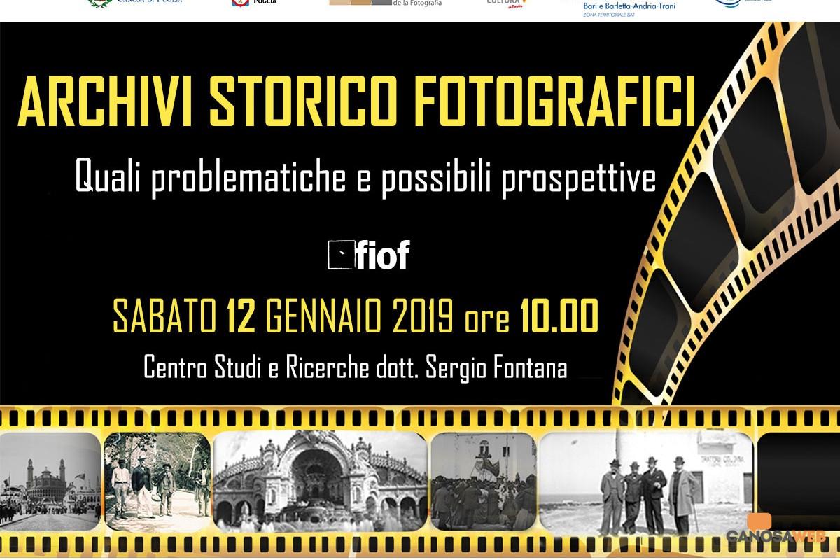 Convegno: Archivi storico fotografici. Quali problematiche e possibili prospettive