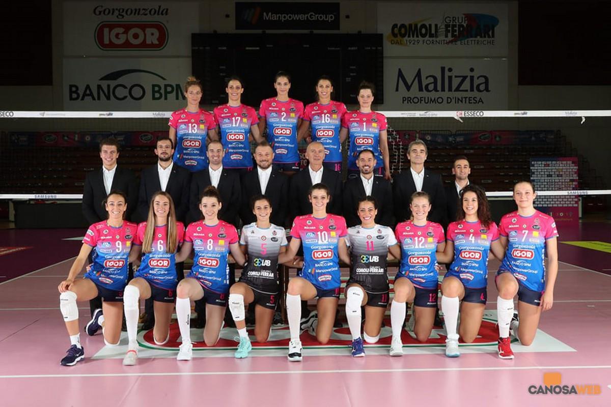 2019 Igor Volley Novara