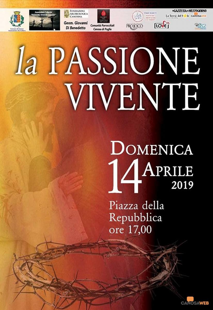 2019 Passione Vivente Canosa di Puglia(BT)