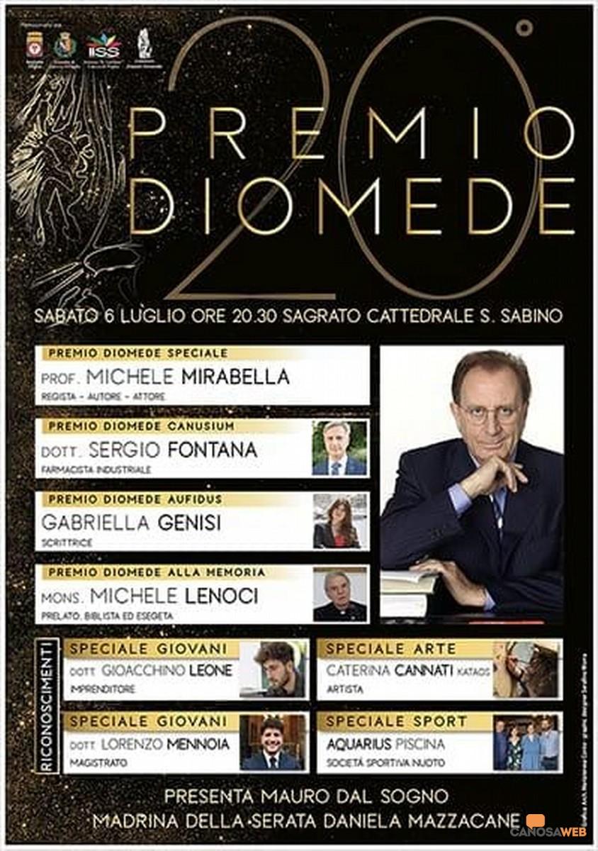 XX Edizione Premio Diomede 2019  Canosa di Puglia