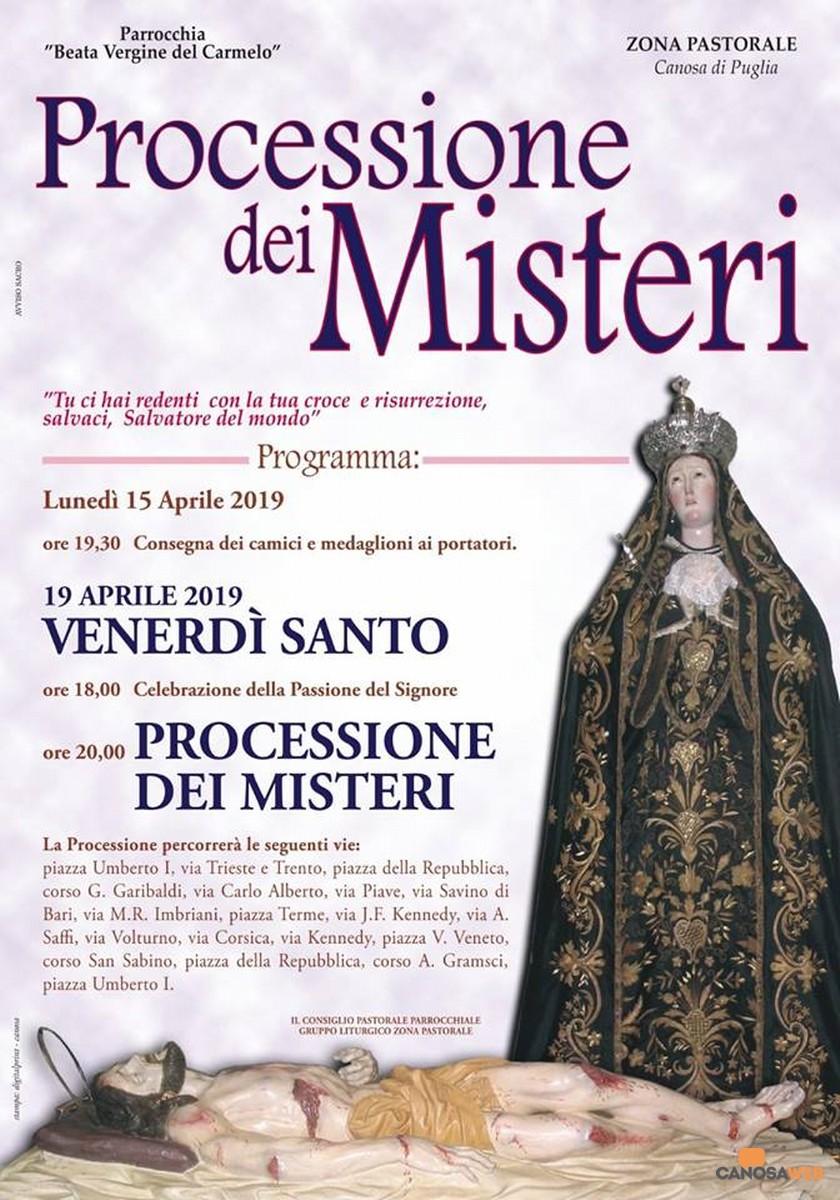 2019 Processione dei Misteri - Canosa di Puglia(BT)