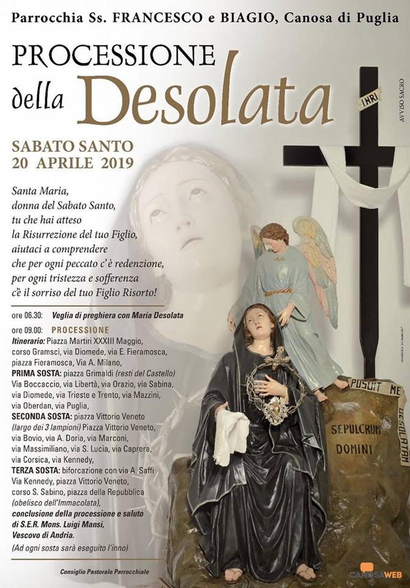 2019 Processione della Desolata Canosa di Puglia(BT)