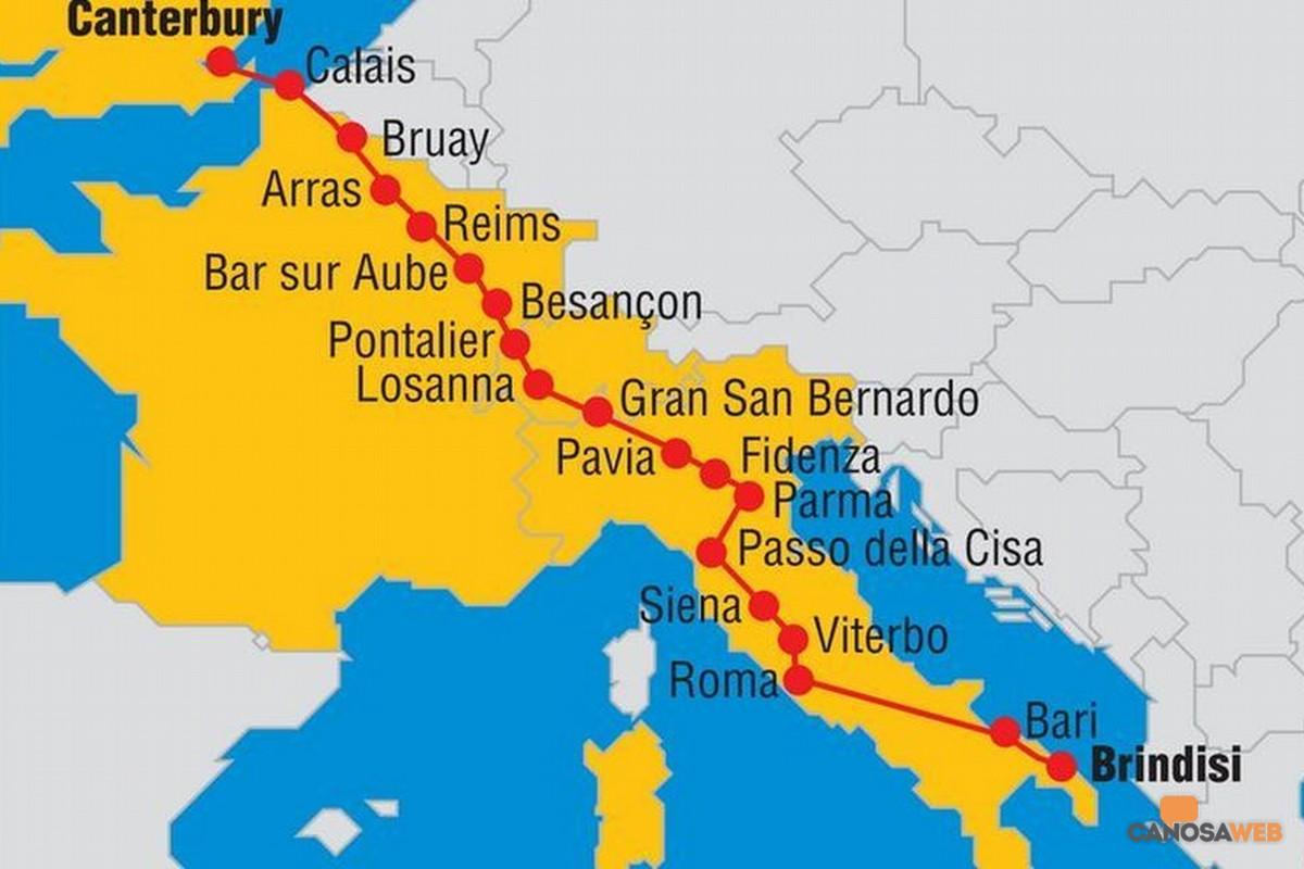 Via Francigena -Canosa di Puglia