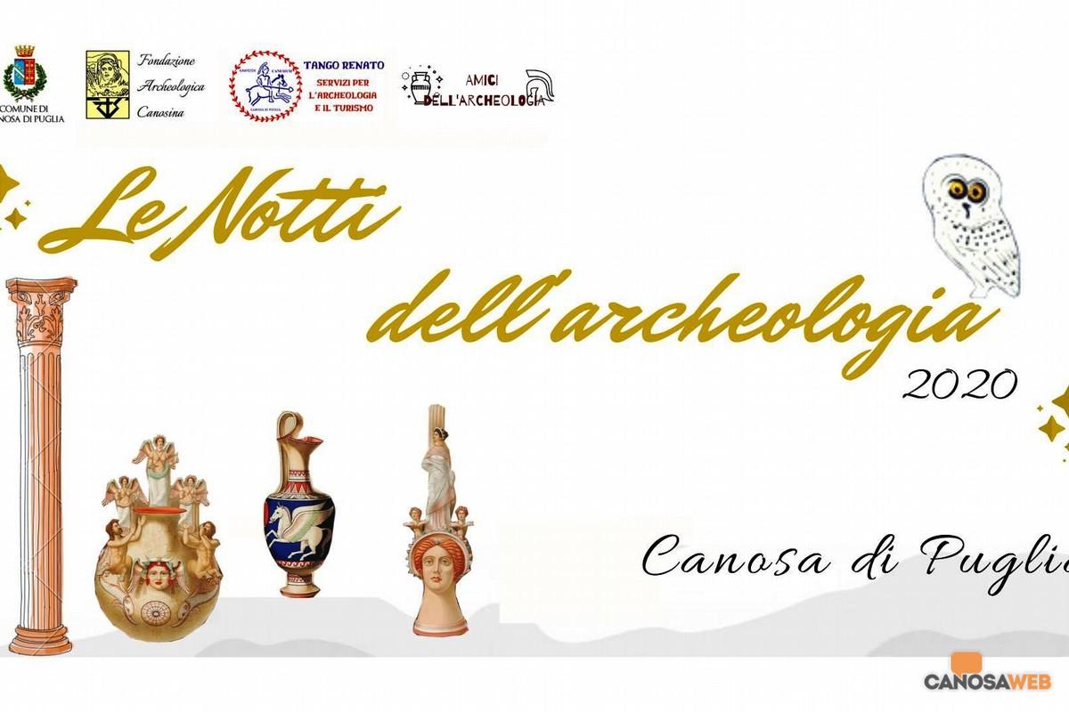 2020 Canosa di Puglia  Le Notti dell'Archeologia
