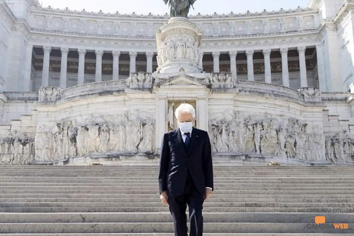 25 Aprile 2020 Presidente Mattarella