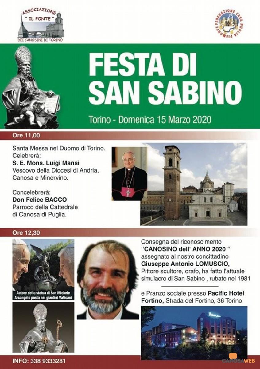 2020 Festa di San Sabino a Torino
