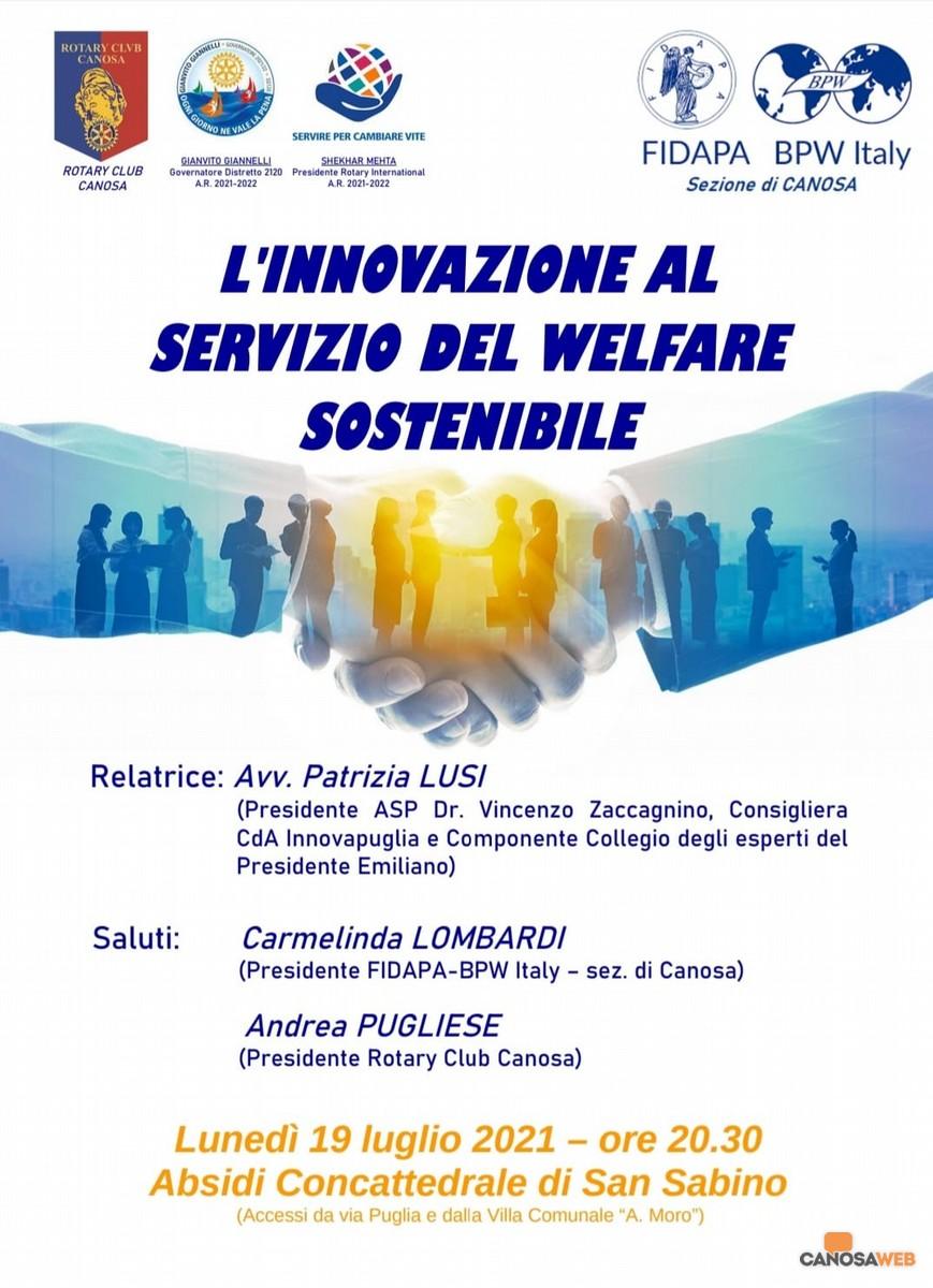 L'innovazione al servizio del Welfare sostenibile