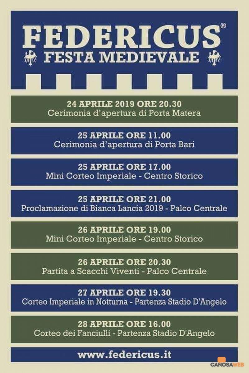 Federicus – Festa Medievale 2019