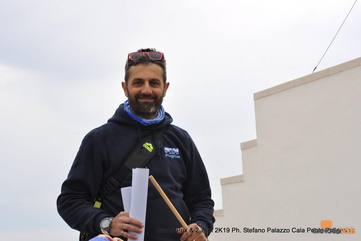 Ruggiero Messina Responsabile del settore Acque Libere della Fin Puglia