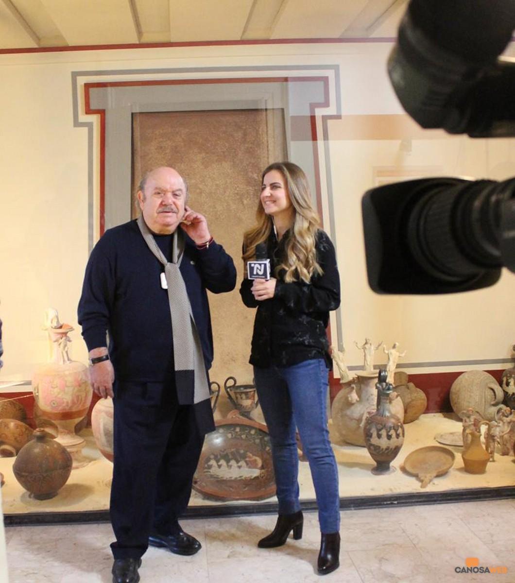 Lino Banfi e le bellezze archeologiche canosine
