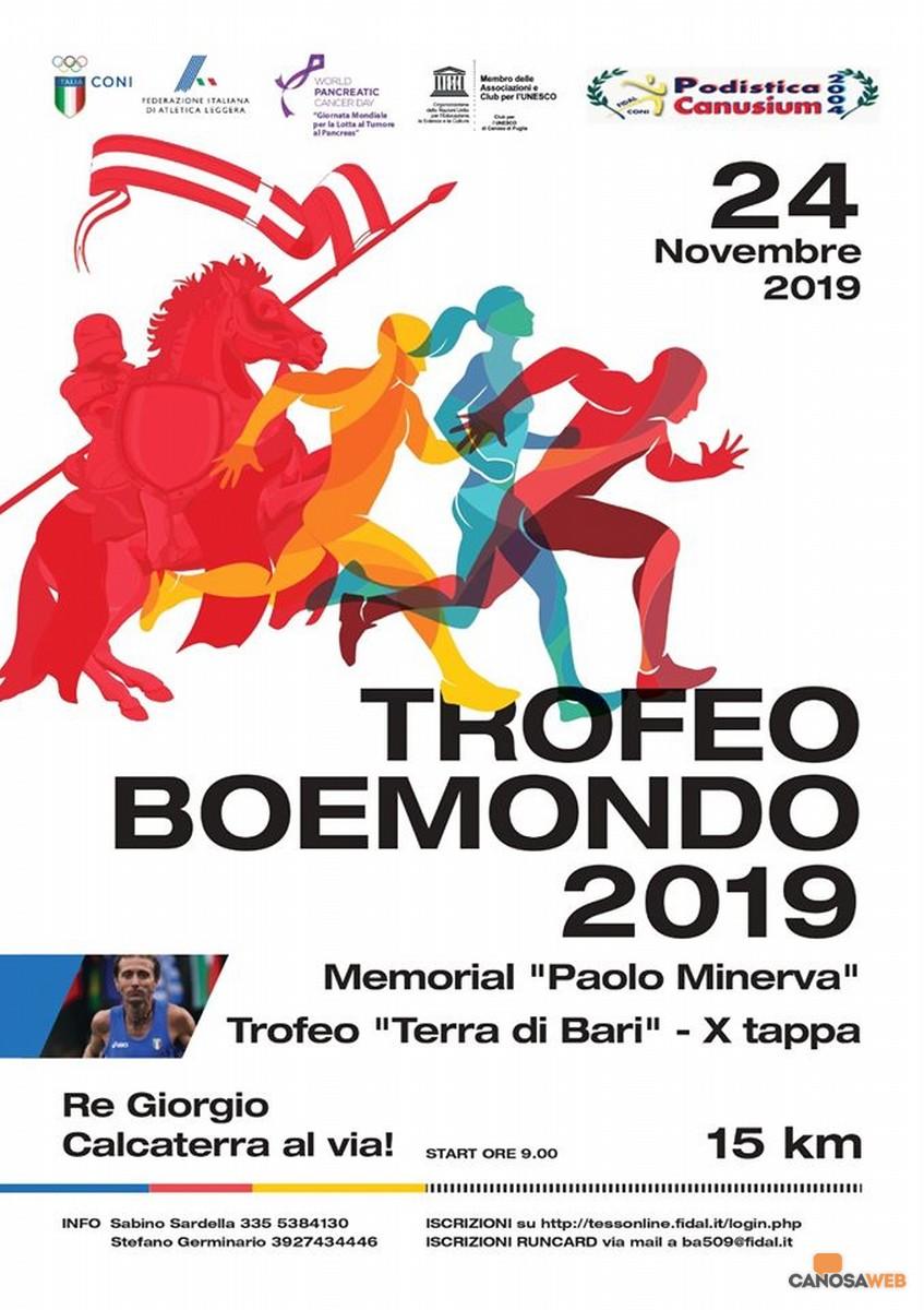 """""""TROFEO BOEMONDO 2019 - Memorial Paolo Minerva """" Canosa di Puglia"""