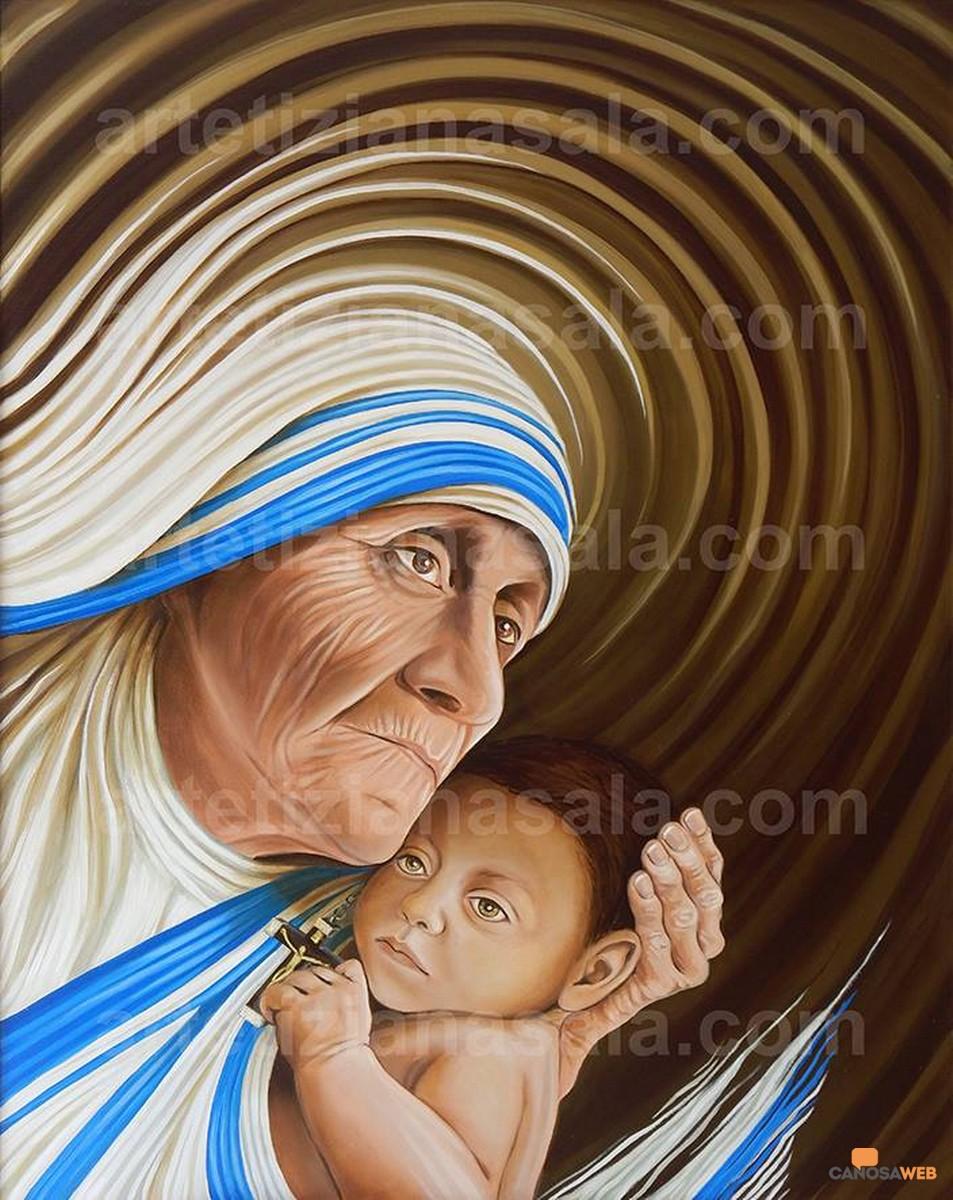 Tiziana Sala: ESSENZA UMANA  Amore Vita e Fede - Madre Teresa di Calcutta