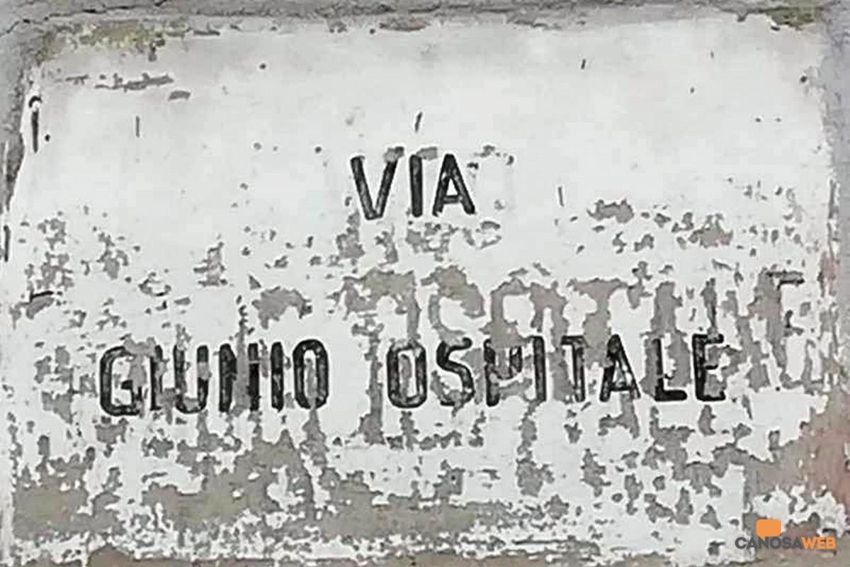Canosa via Giunio Ospitale