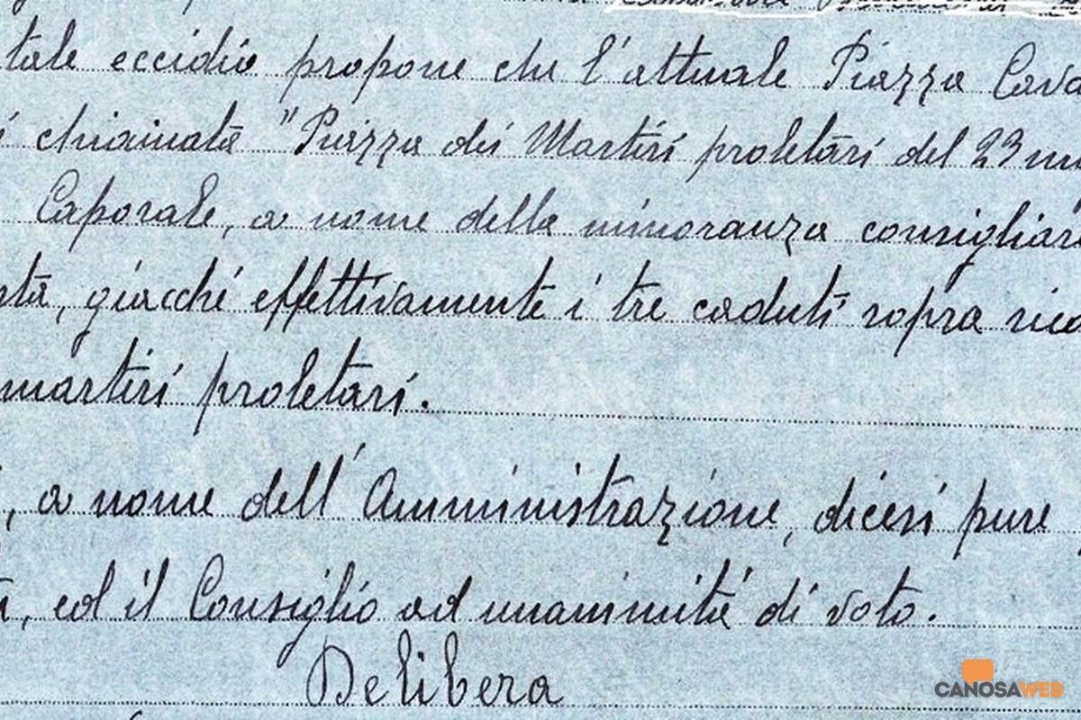 Canosa Archivio Storico Comunale