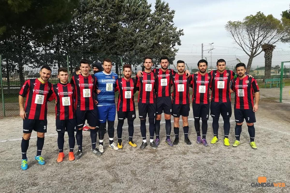 Canosa Calcio 1948 a Foggia
