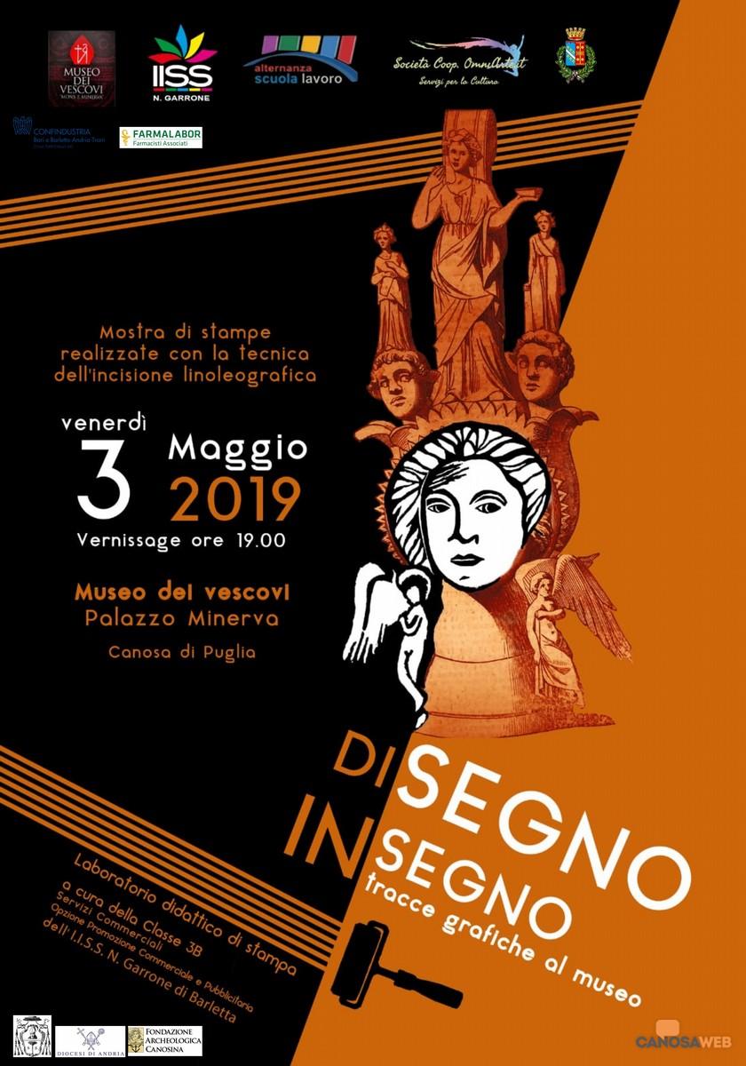 Di Segno in Segno Tracce Grafiche al Museo dei Vescovi Canosa di Puglia