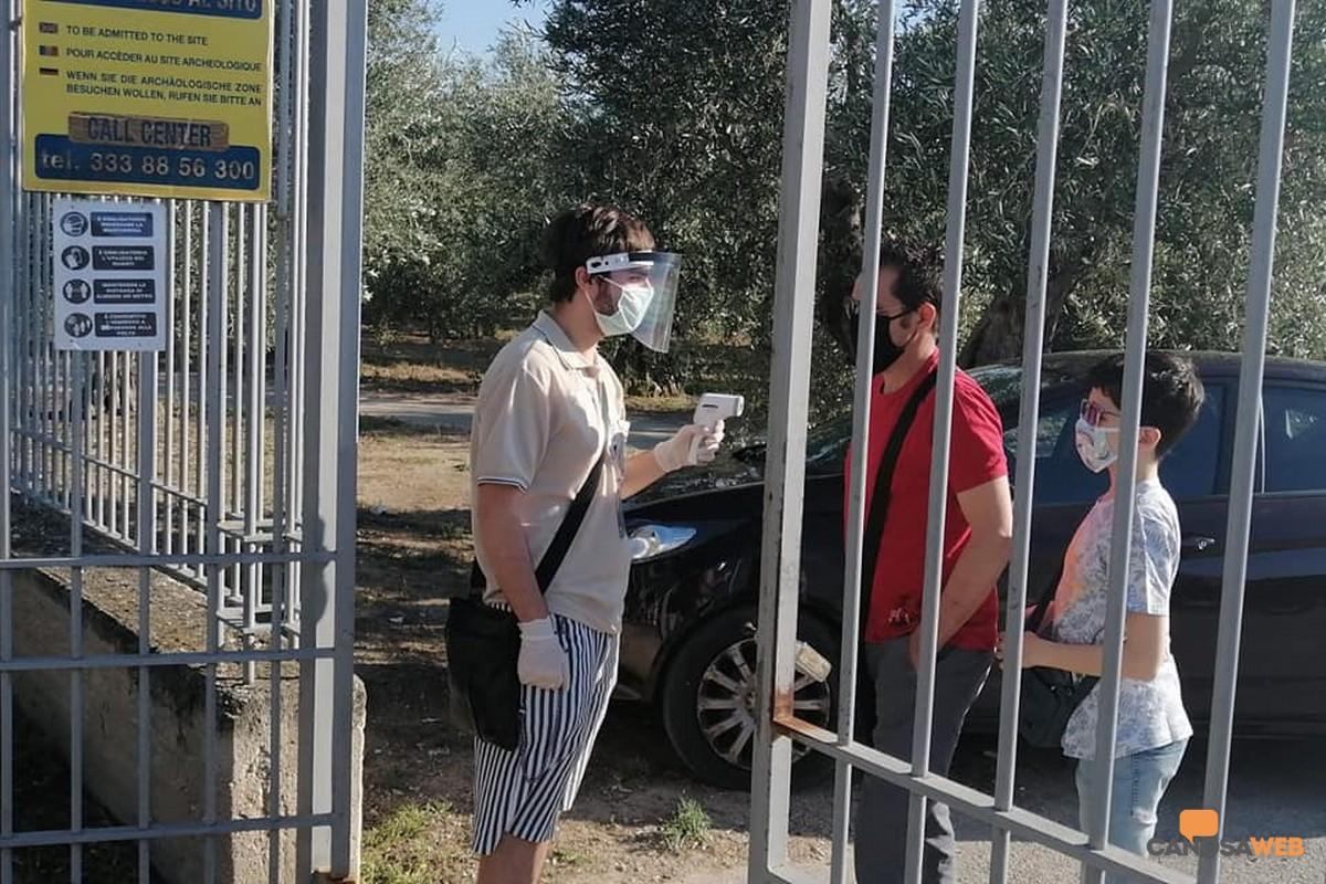 2020 Parco Archeologico San Leucio Canosa di Puglia: visite in sicurezza
