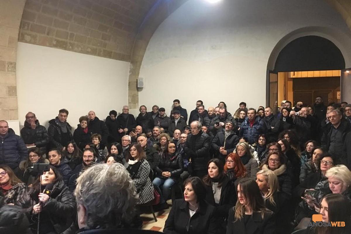 Inaugurazione della nuova sede di Direzione Italia–Fratelli d'Italia a Canosa