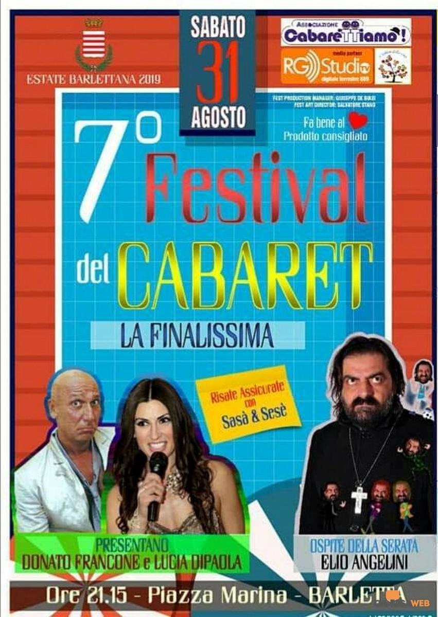 """Barletta:Festival Nazionale del Cabaret """"Cabaret in Tour"""""""