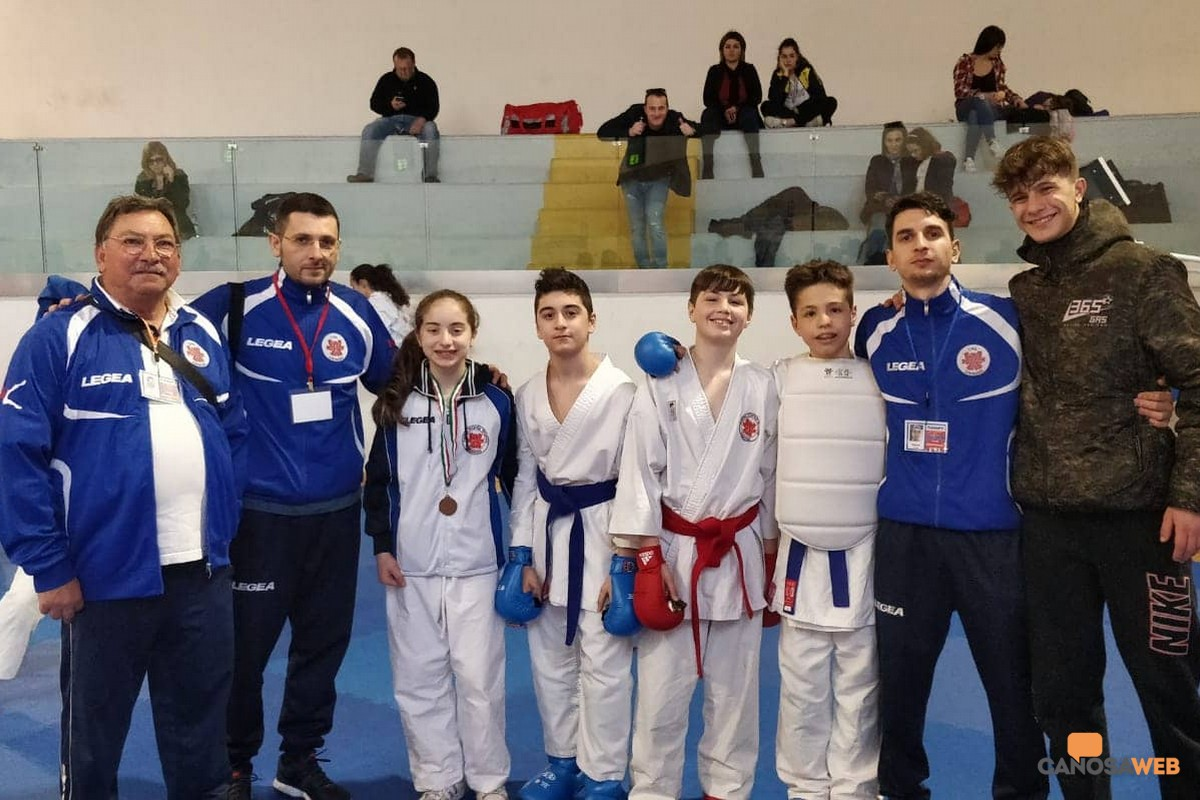 """Terlizzi CAS CANOSA """"Trofeo Puglia Esordienti M/F"""" di kumite/kata"""
