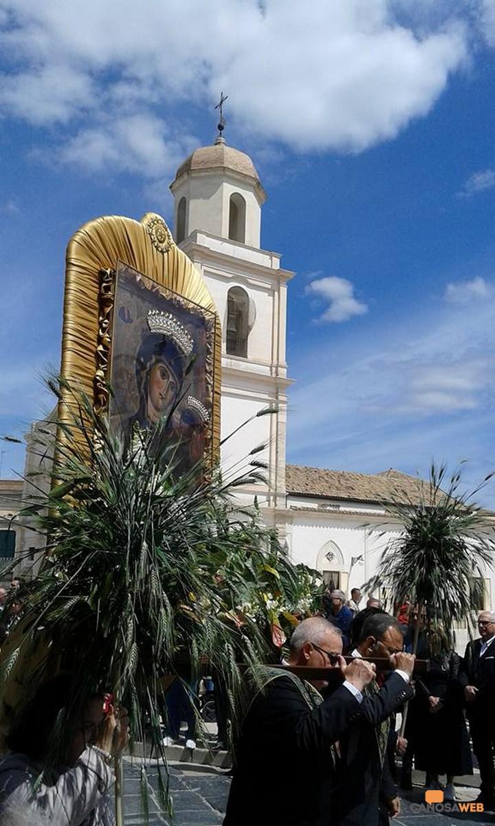 """""""Processione della Madonna della Fonte, Autentica Primizia"""" Canosa 2019."""