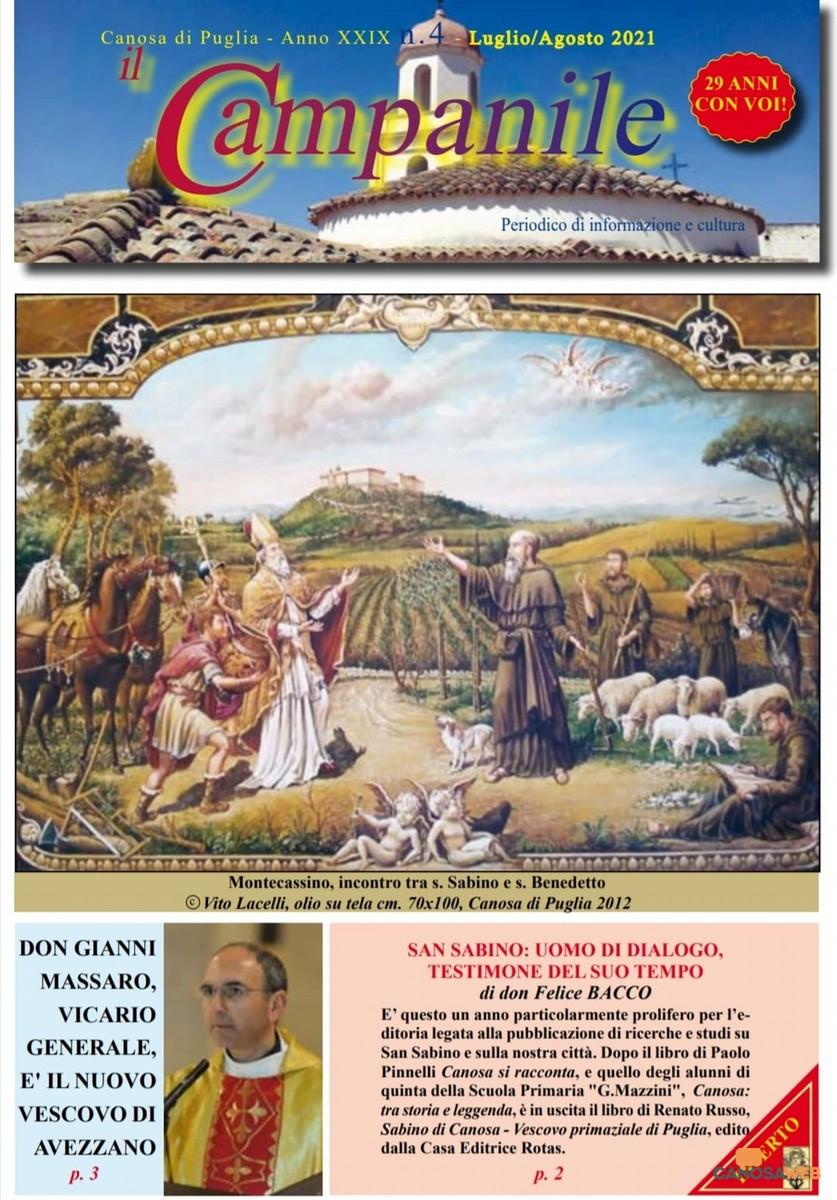 """""""Il CAMPANILE"""" n.4 Luglio-Agosto  2021"""