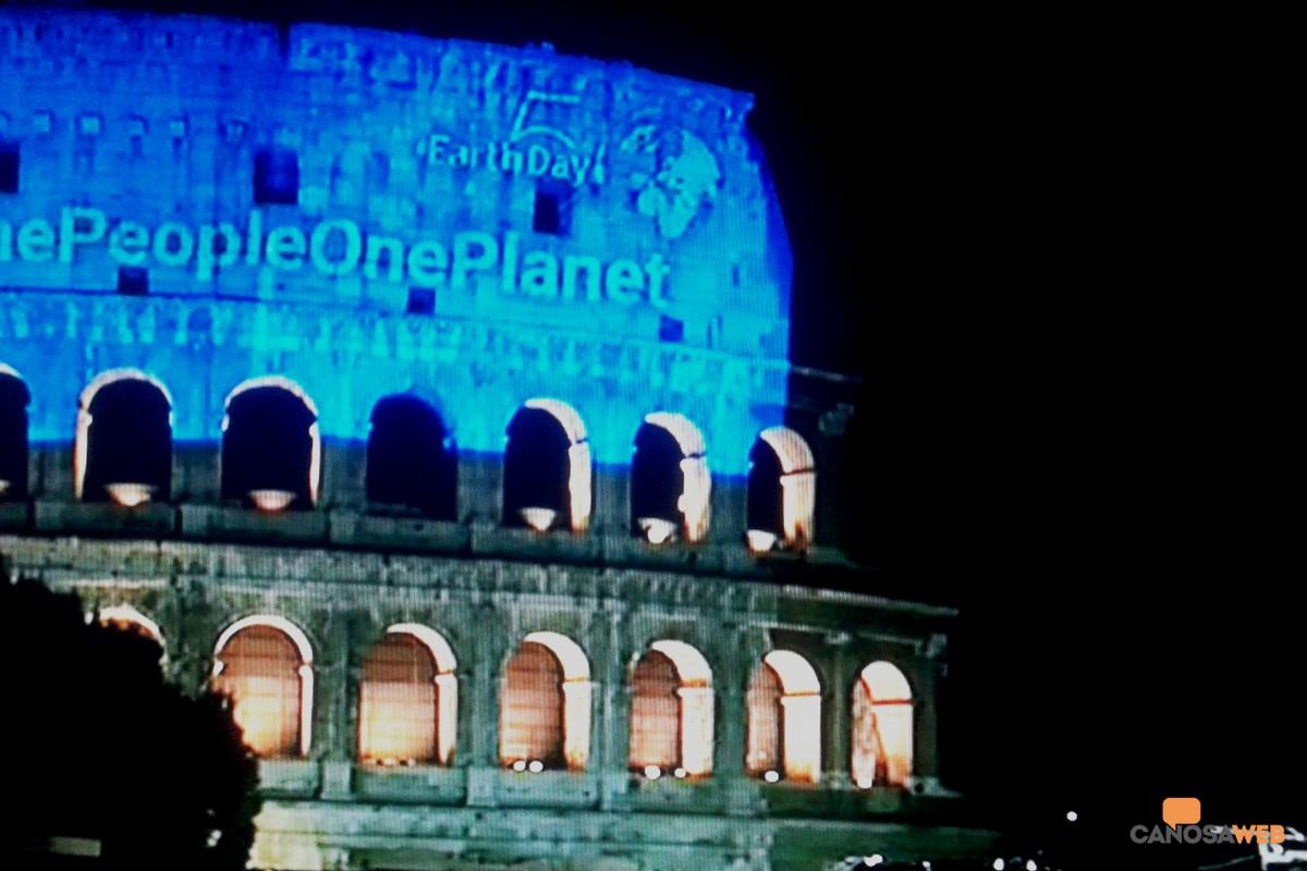 Roma: 50° anniversario della Giornata Mondiale della Terra (Earth Day) 2020