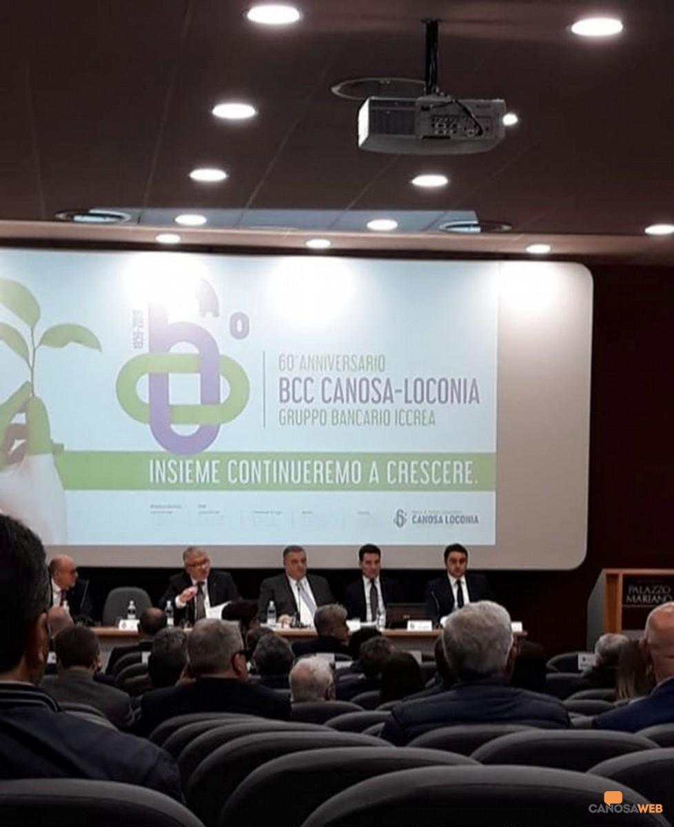 I sessant'anni della BCC Canosa Loconia