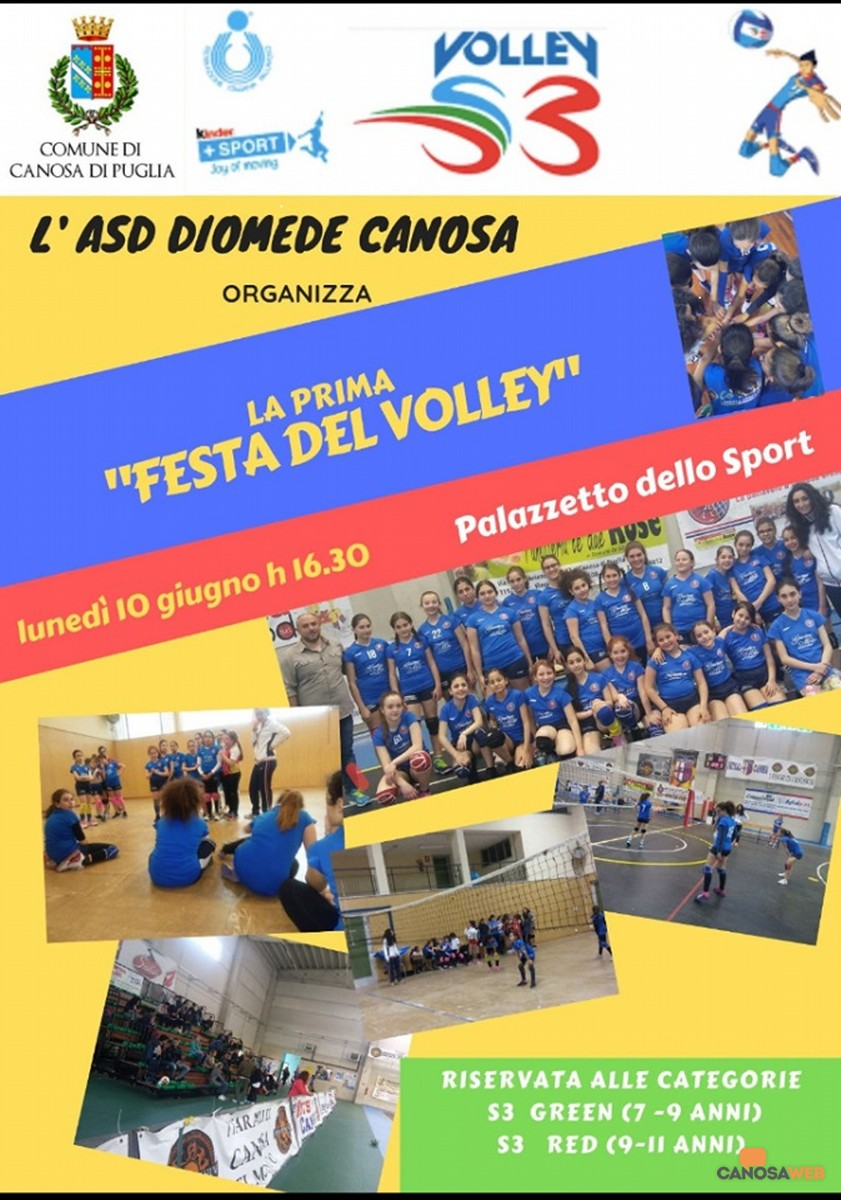 Festa del Volley ASD Diomede Volley Canosa
