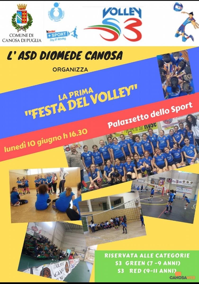 Festa del Volley ASD Diomede Volley Canosa