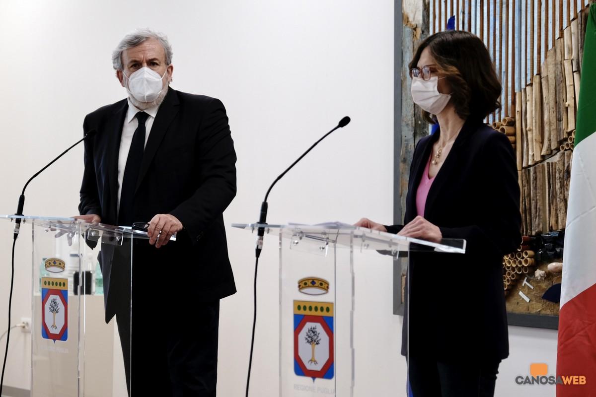 Bari: Emiliano incontra il ministro Gelmini