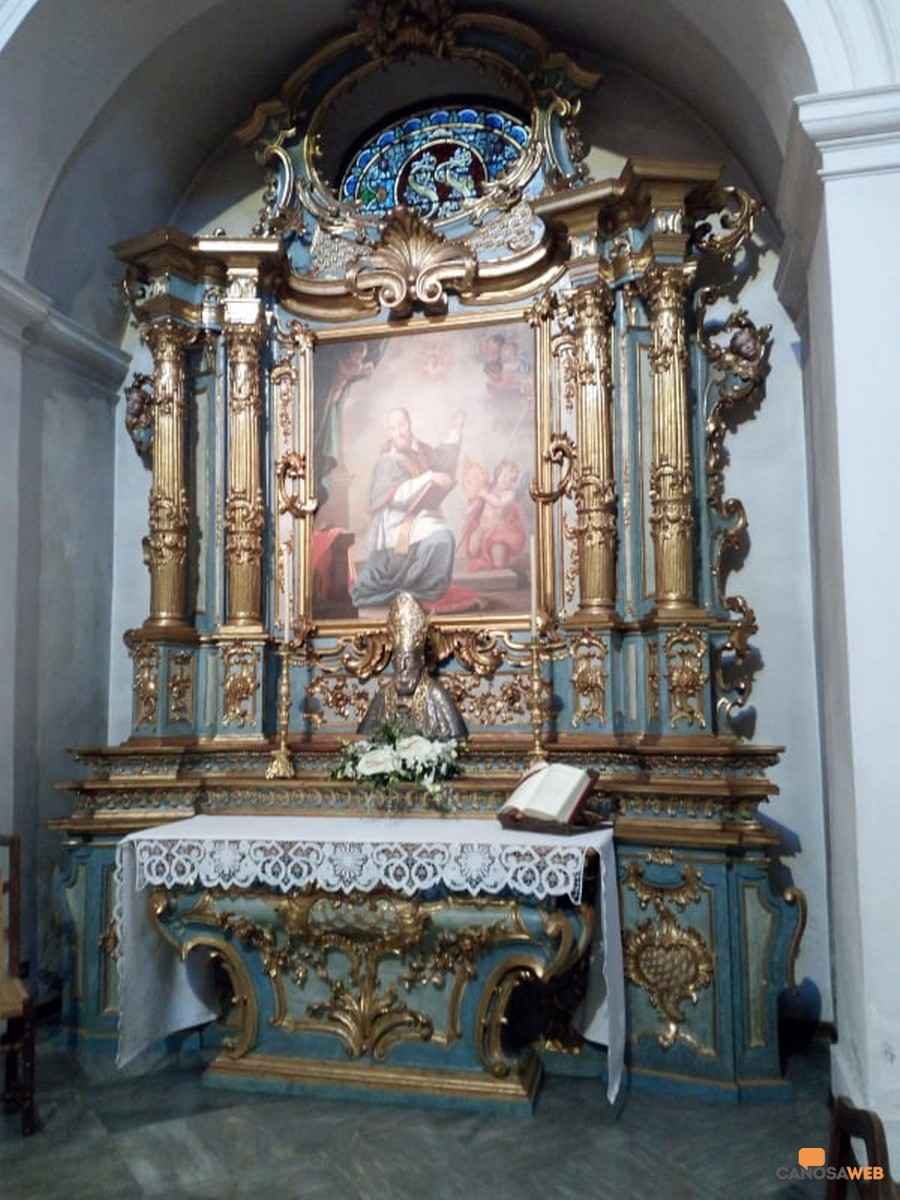 Altare Seminario di Aosta San Francesco di Sales