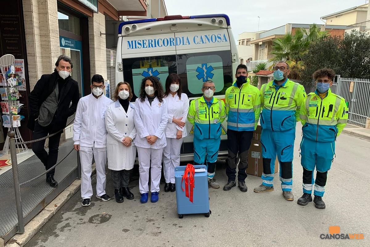 2020 Staff Farmacia Lombardi - Rapprersentanti Misericordia Canosa