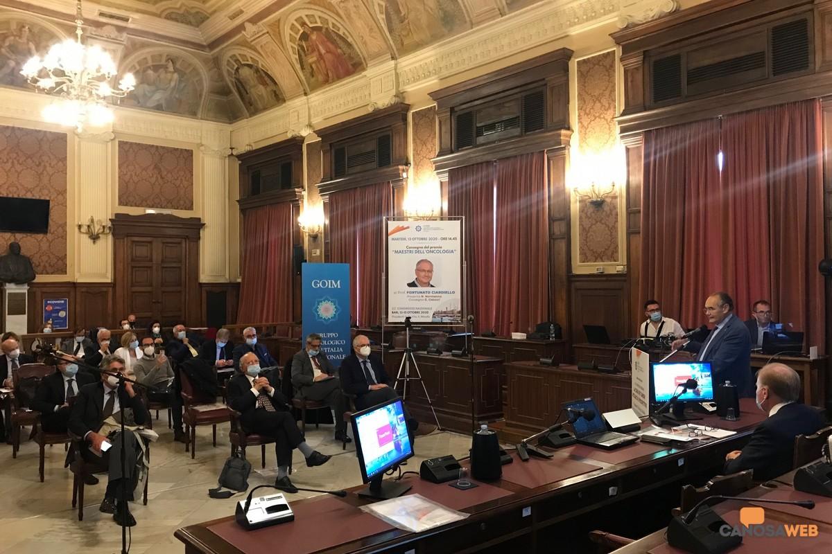 2020 Bari Congresso  La cura dei tumori, attualità e prospettive