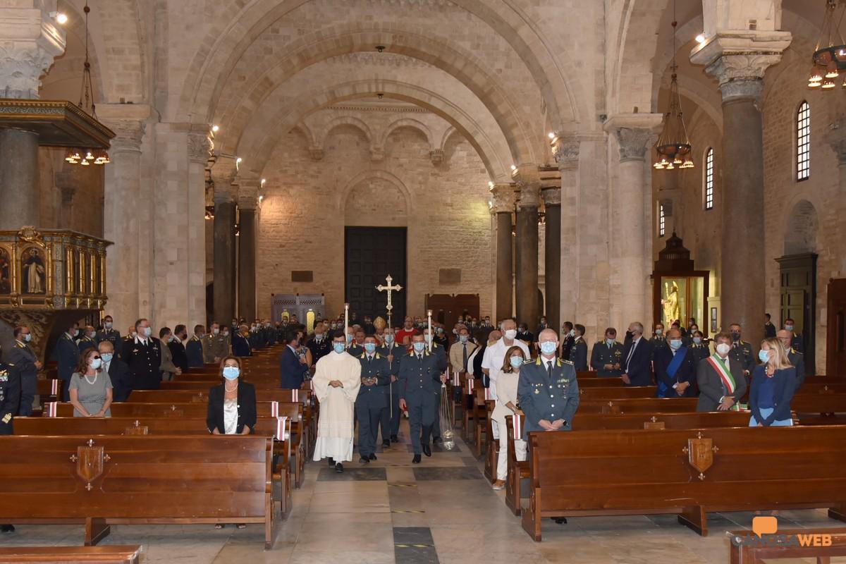 Bari, la celebrazione liturgica per San Matteo  Patrono Guardia di Finanza