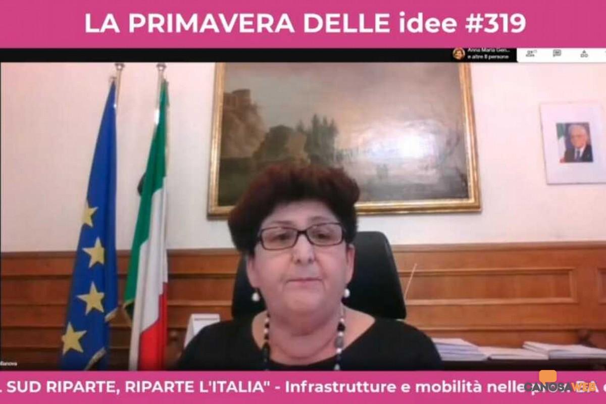 Viceministra Teresa Bellanova