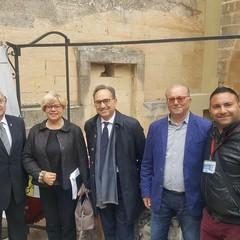 Giuliano Volpe, Loredana Capone, Sabino Silvestri FAC