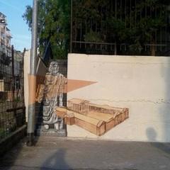 Street Art  Piskv Giove Toro