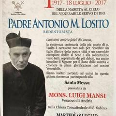 Centenario del Dies Natalis di PadreA.M. Losito