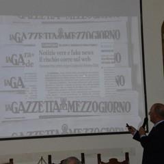 """Paolo Pinnelli relatore  Convegno """"Fake news e corretta informazione"""""""