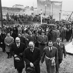 Canosa 7 febbraio 1960  Posa della prima pietra  Vito Rosa
