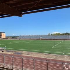 2020 Canosa  Stadio Comunale San Sabino lavori di ristrutturazione