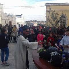 Canosa:Funerale a Carnevale