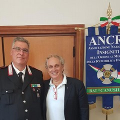 Il Comandante Silecchia e l'avvocato Enzo Princigalli