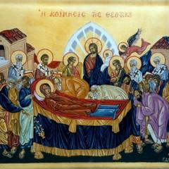 """Culto della """"dormitio Virginis"""" , la Dormizione di Maria"""
