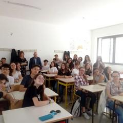 """Classe 3^ A del Liceo Statale """"Enrico Fermi"""" di Canosa"""
