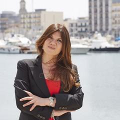 Scrittrice Gabriella Genisi - Premio Diomede 2019