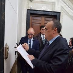 Il Ministro Bonisoli al Museo dei Vescovi a  Canosa